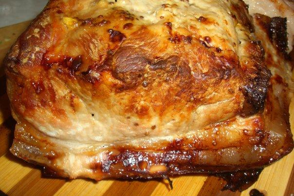 Мясо в тесте запеченное в духовке видео