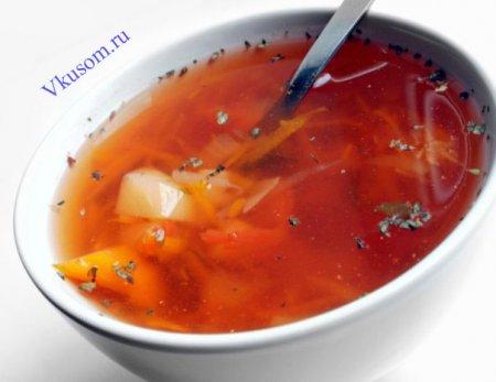 Суп вегетарианский