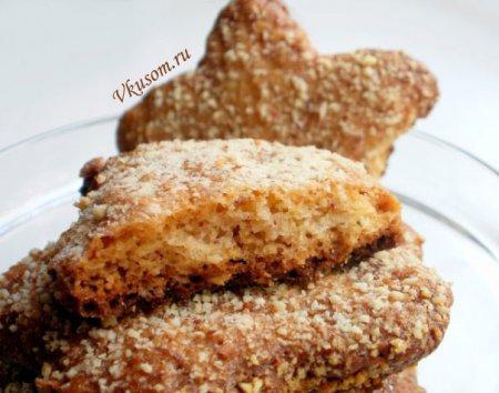 Овсяно-миндальные печенюшки