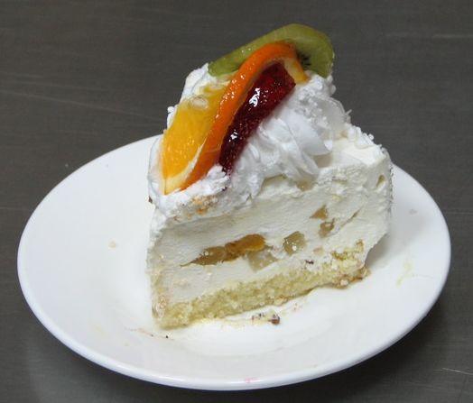 Торт фруктовый к 8 марта кулинария