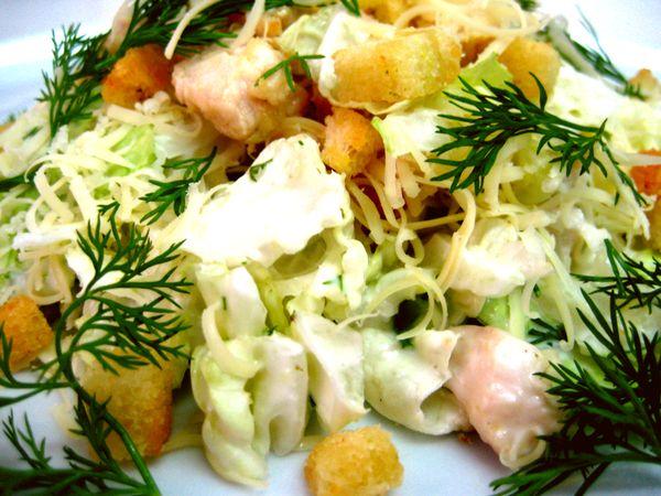 самый вкусный рецепт салата цезарь в домашних условиях
