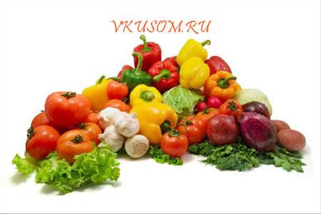 Готовим правильно овощи.