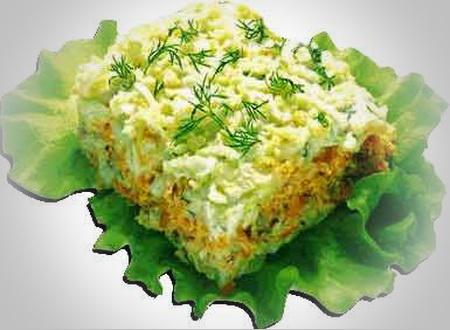Готовим вкусные салаты