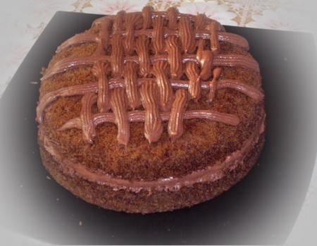 Торт шоколадный в микроволновке
