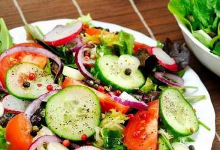 Осетинский овощной салат