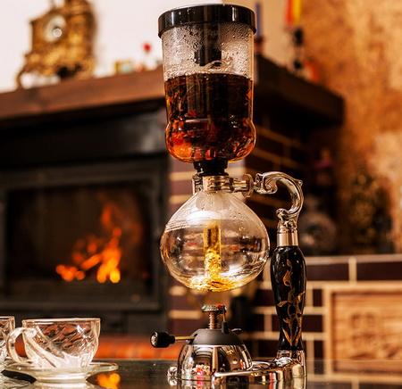 Чайный сифон. Сифон для варки чая и кофе.